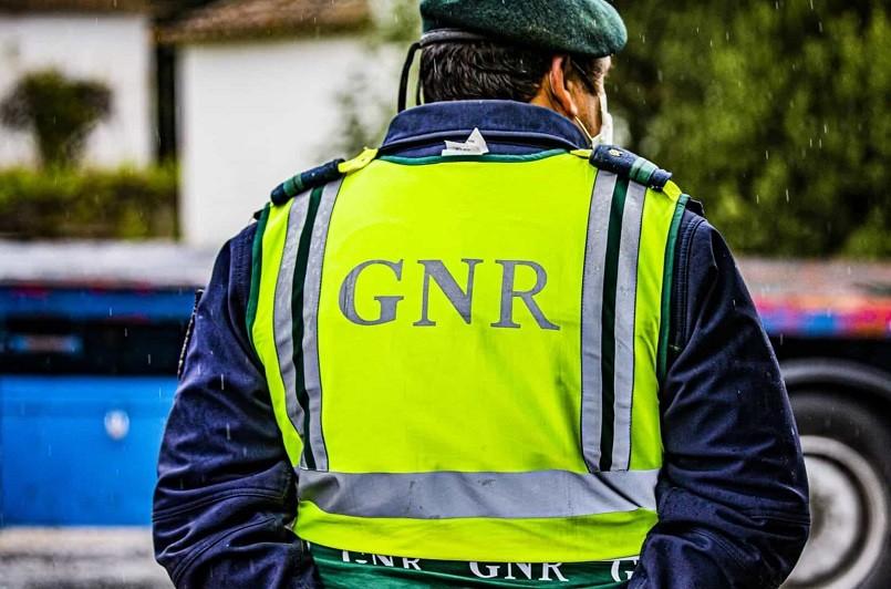 GNR deteve 356 pesoas na última semana