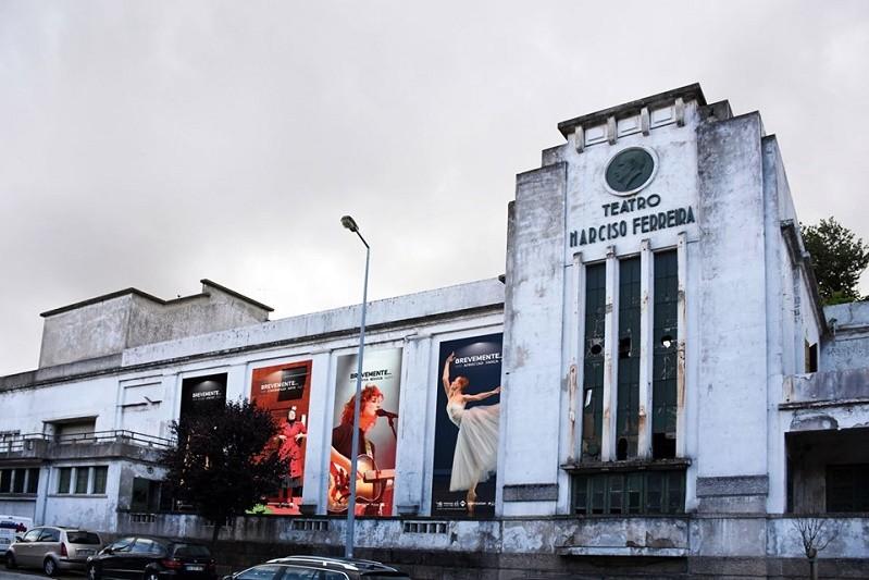 Reabilitação do Teatro Narciso Ferreira em Famalicão arranca segunda-feira