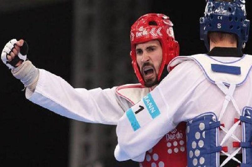 Júlio Ferreira perde nas meias-finais da qualificação de taekwondo