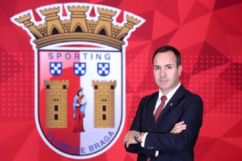António Salvador felicita 'com grande orgulho' equipa feminina do Braga