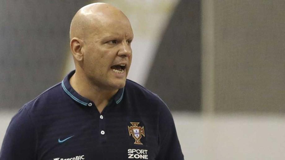 Selecionador de futsal quer duas vitórias com Noruega, antes das férias