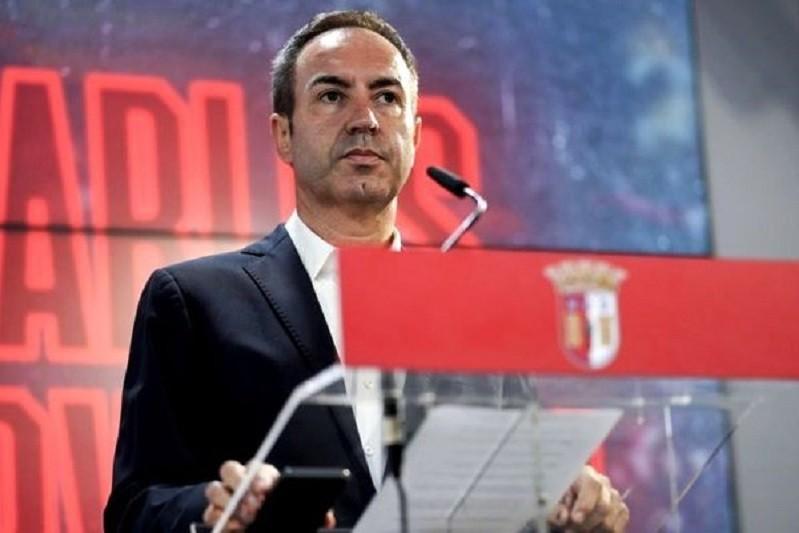 António Salvador parte para novo mandato no Braga com sonho do '1.º de Maio'