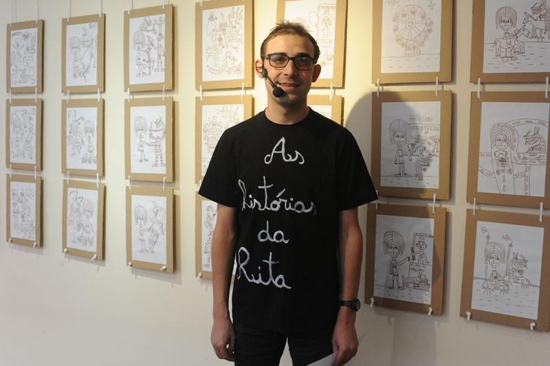 Exposição de desenhos sensibiliza para a inclusão social de pessoas portadoras de deficiência