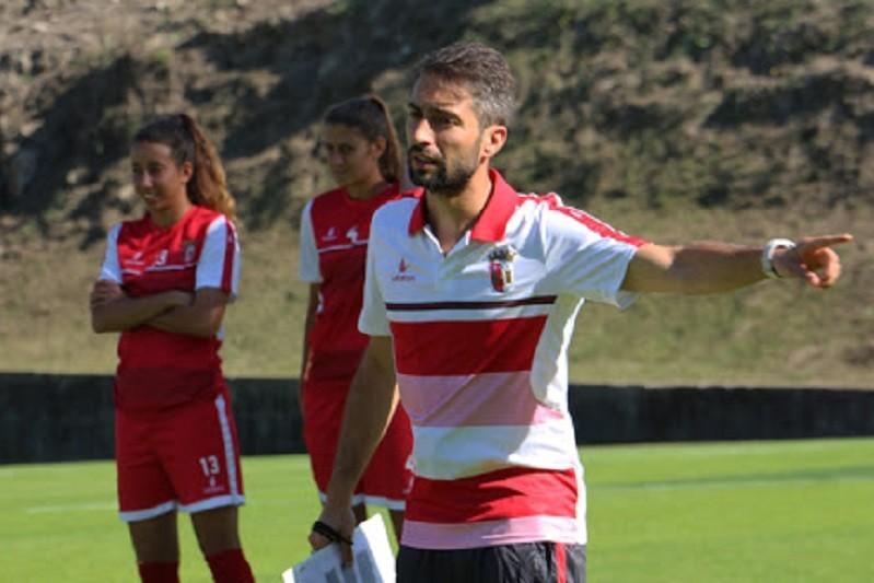 Miguel Santos deixa comando técnico da equipa de futebol feminino do Sporting de Braga