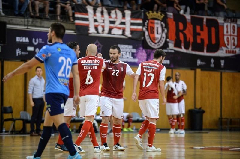 SC Braga/AAUM e Candoso entram a golear no campeonato de futsal