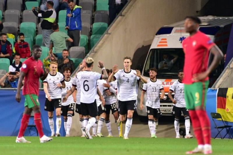 Portugal perde com Alemanha na terceira presença na final do Europeu de sub-21