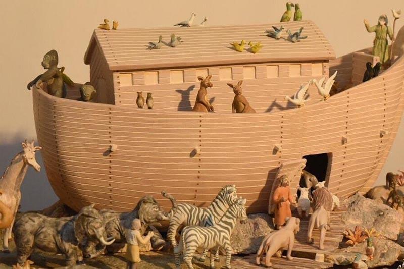 Arca de Noé da Fundação Castro Alves eleita a melhor peça da Feira de Artesanato e Gastronomia de Famalicão
