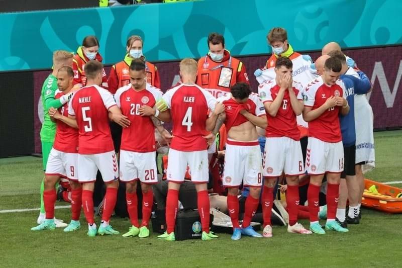 Finlândia vence Dinamarca em jogo marcado por desfalecimento de Eriksen