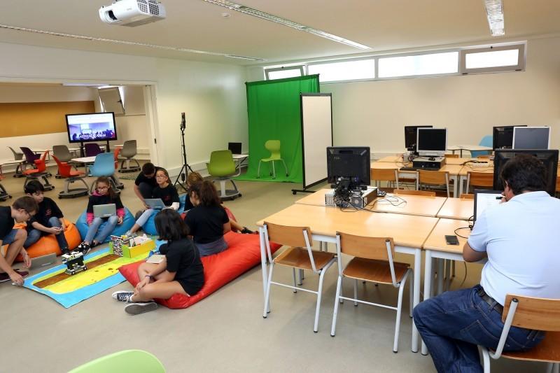 Agrupamento Francisco Sanches inaugurou Estúdio de Aprendizagem