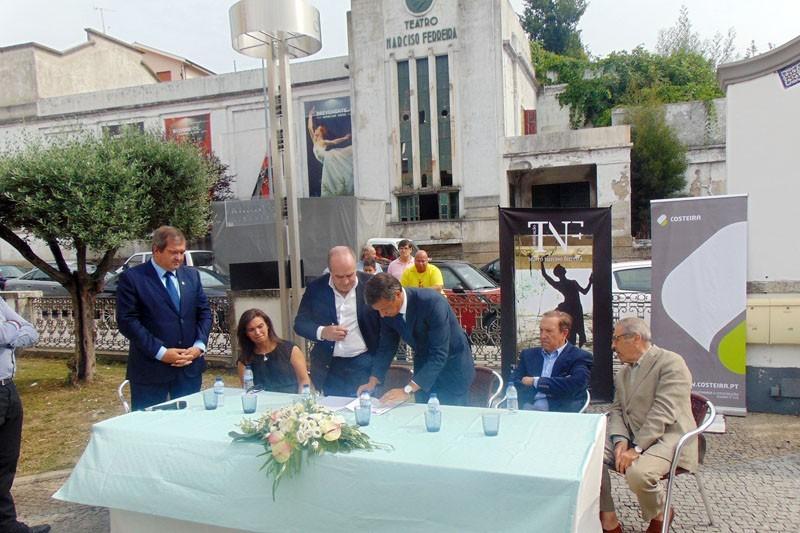 Reabilitação do teatro Narciso Ferreira dá centralidade a Riba dAve