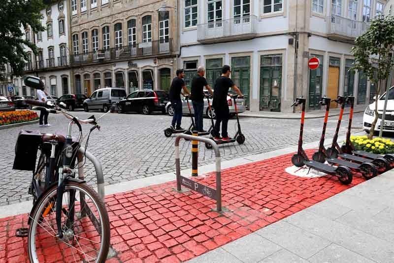Trotinetes: PS e CDU querem mais segurança