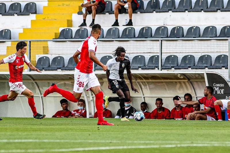 Sporting Clube  de Braga e Farense empatam sem golos na apresentação dos algarvios