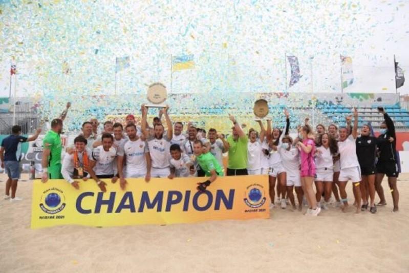 Sporting de Braga volta a perder Champions de futebol de praia para Kristall