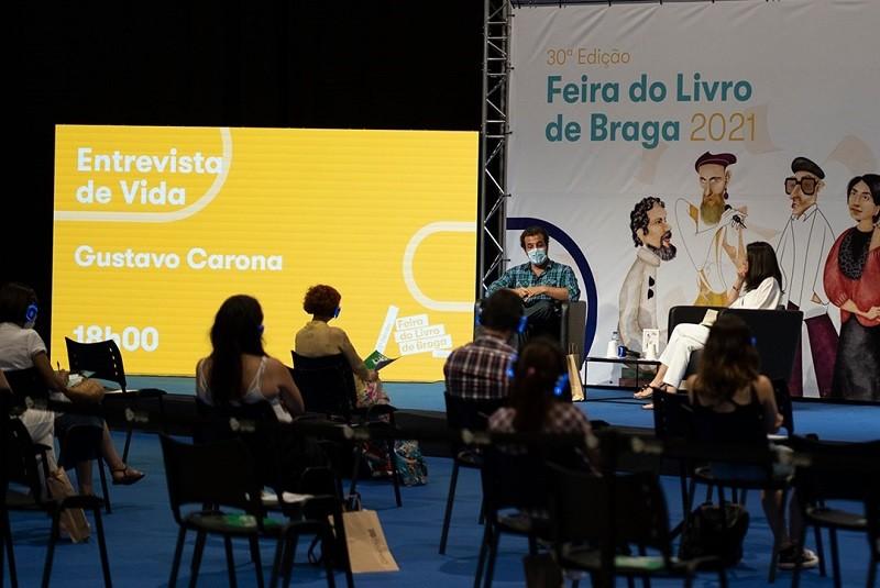 Gustavo Carona partilhou na Feira do Livro a missão mais difícil da sua vida