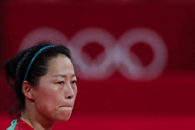 Fu Yu eliminada na terceira ronda do ténis de mesa