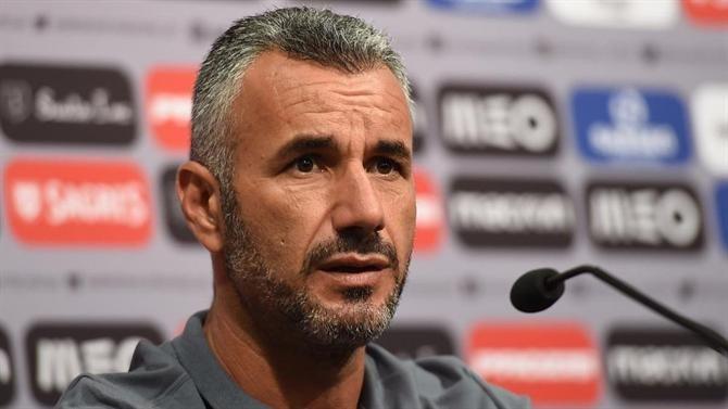 Ivo Vieira quer Vitória igual a si próprio frente ao Aves, mas mais eficaz
