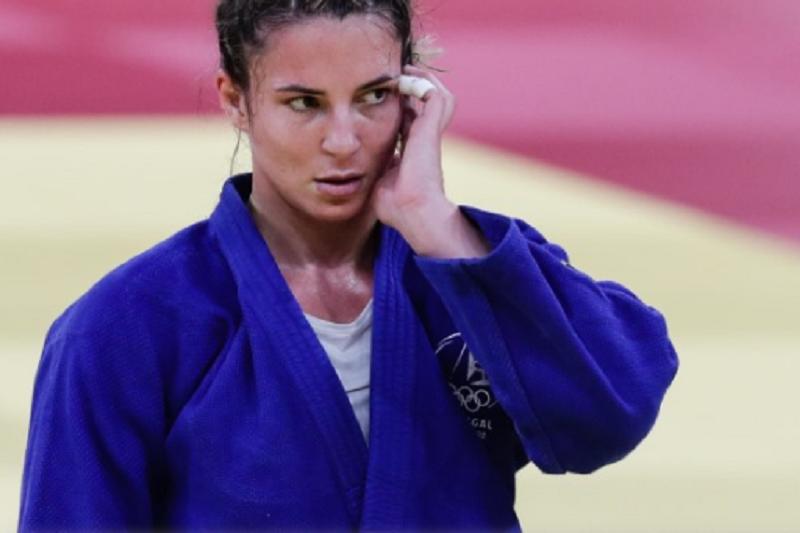 Judoca Bárbara Timo eliminada na segunda ronda