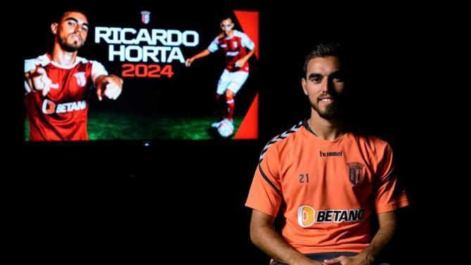 Ricardo Horta renova com Sporting de Braga até 2024