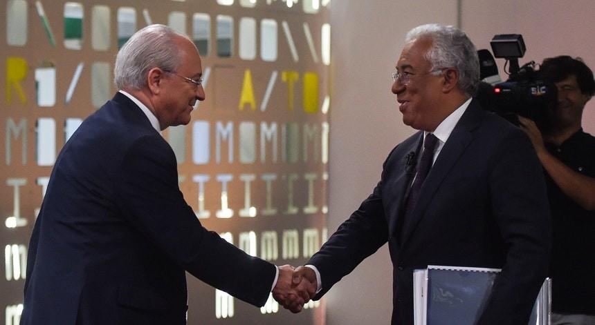 Eleições: Rio fala em oportunidade perdida pelo país e Costa defende solidez da economia