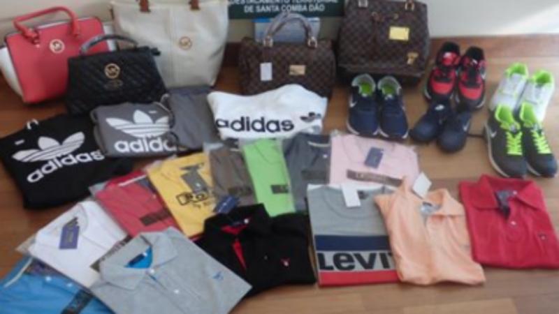 GUIMARÃES: GNR apreendeu 2.972 artigos contrafeitos numa feira