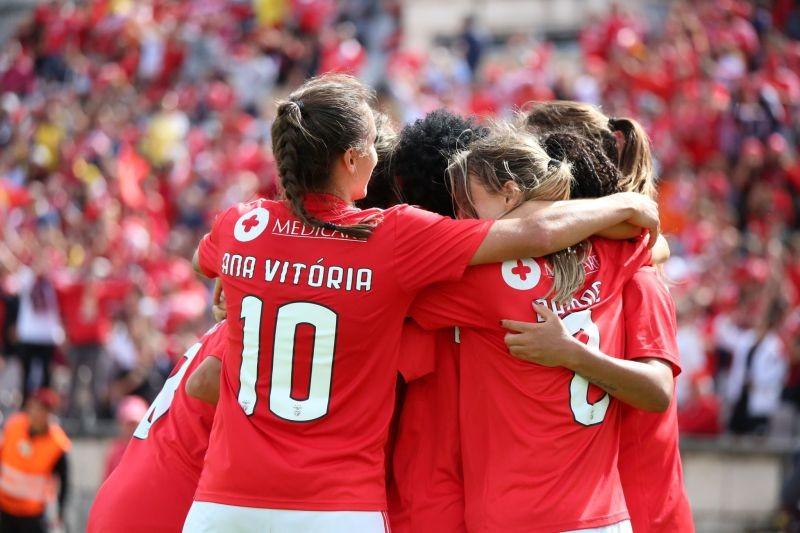 Benfica empata com Braga B e confirma título da II Divisão de futebol feminino