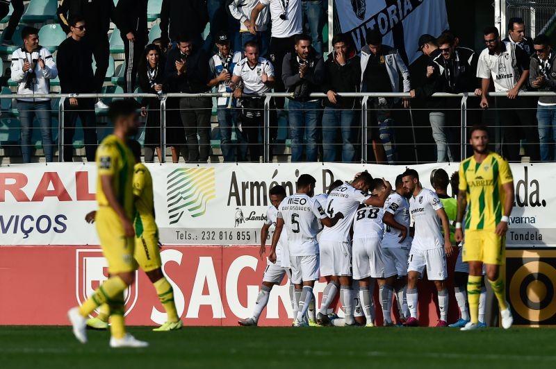 Vitória de Guimarães vence na visita ao Tondela e sobe ao sexto lugar