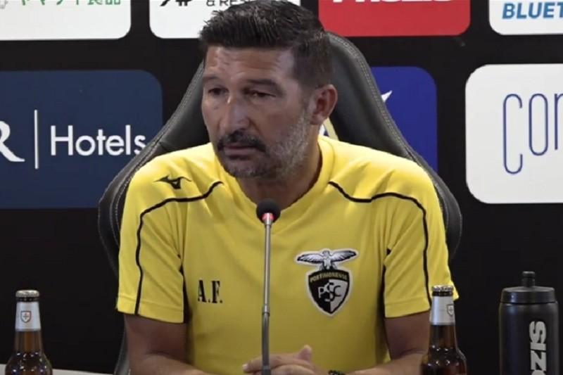 Portimonense quer somar segunda vitória na Liga na receção ao Sporting Clube de Braga