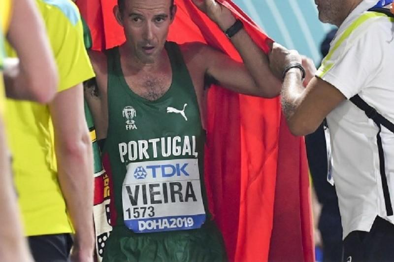 Atletismo/Mundiais: Portugal chega às 22 medalhas com a prata de João Vieira