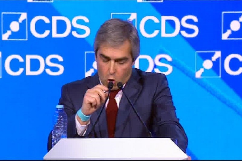 Eleições: Eurodeputado do CDS-PP Nuno Melo destaca dignidade de Assunção Cristas