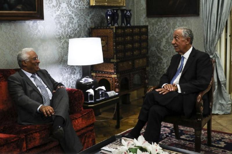 Eleições: Presidente da República indigitou António Costa como primeiro-ministro