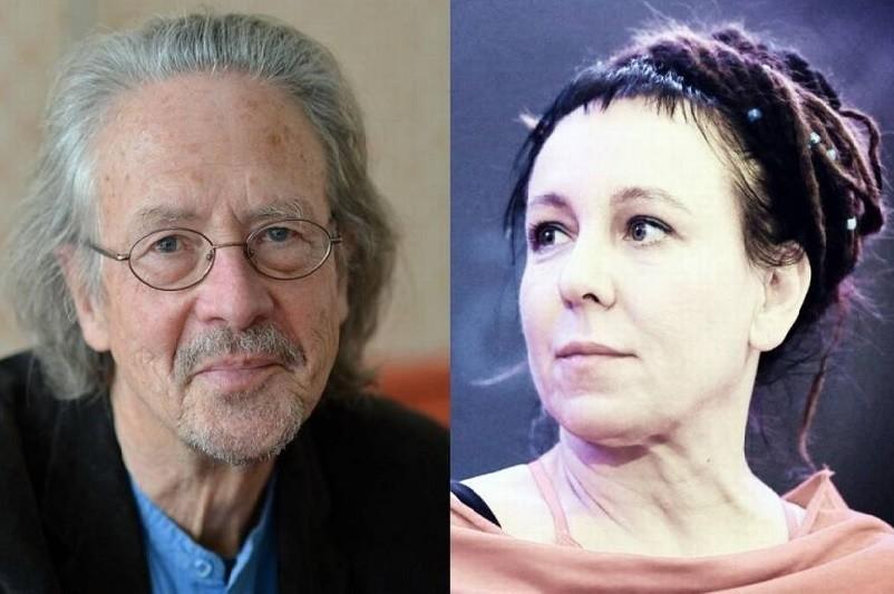 Escritores Olga Tokarczuk e Peter Handke vencem Prémio Nobel da Literatura 2018 e 2019