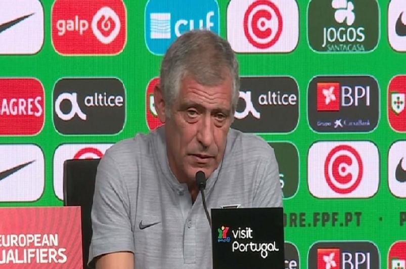 Euro2020: Santos desvaloriza ausência de William e volta a elogiar o Luxemburgo