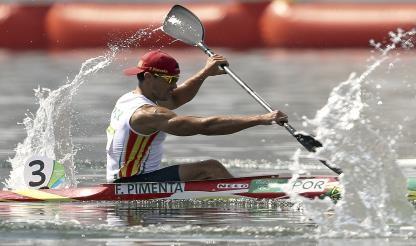 Canoísta Fernando Pimenta conquista medalha de prata em K1 1000