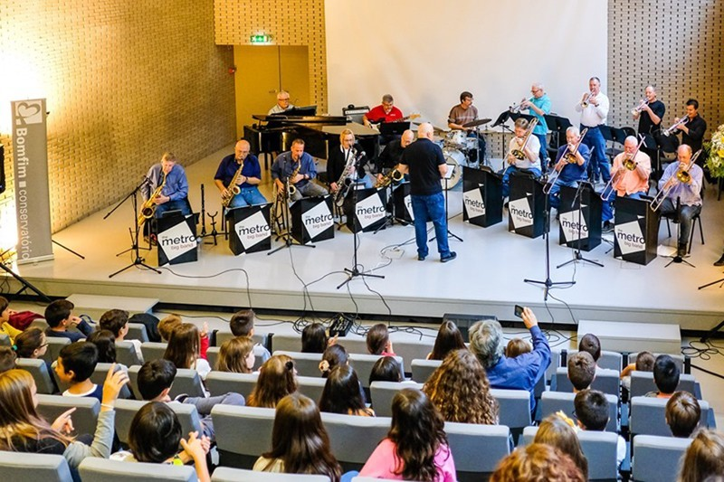 Alunos do pré-escolar e 1.º ciclo assistem a concerto didáctico