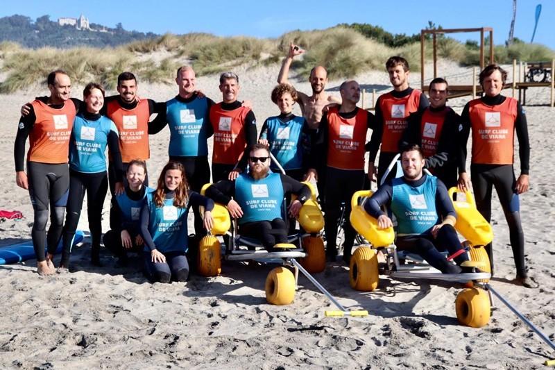 Viana acolhe 1.º Open Ocean Surf Training