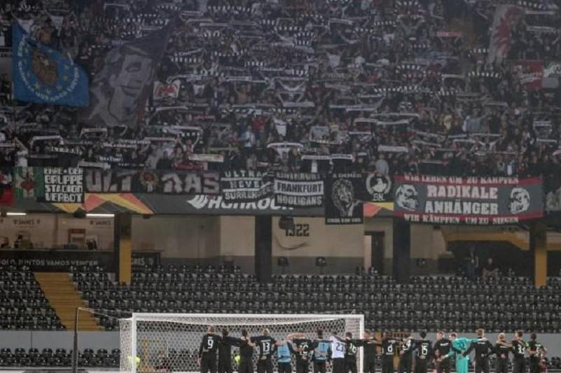 Vitória de Guimarães multado em 50.000 euros, após jogo com Eintracht Frankfurt
