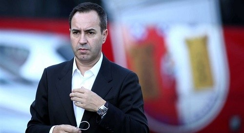 António Salvador admite que Dyego Sousa pode sair para o estrangeiro