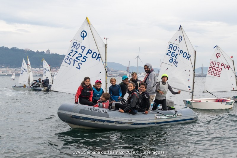 Meeting internacional optimist levou 180 a velejar em Viana do Castelo