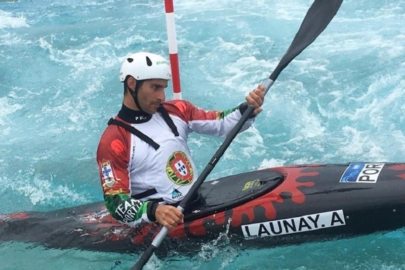 Antoine Launay, da DKC, em 9º no Test Event Olímpico Tóquio/2020, no Japão