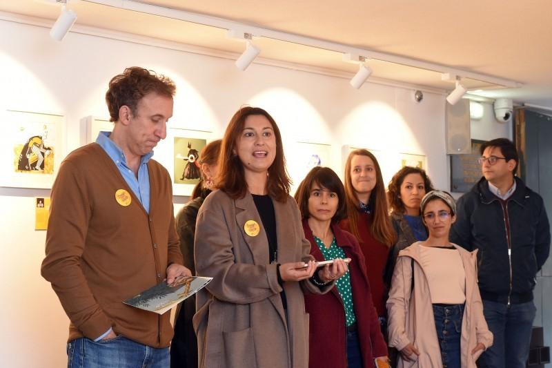 Ilustradores dão vida a expressões de Braga