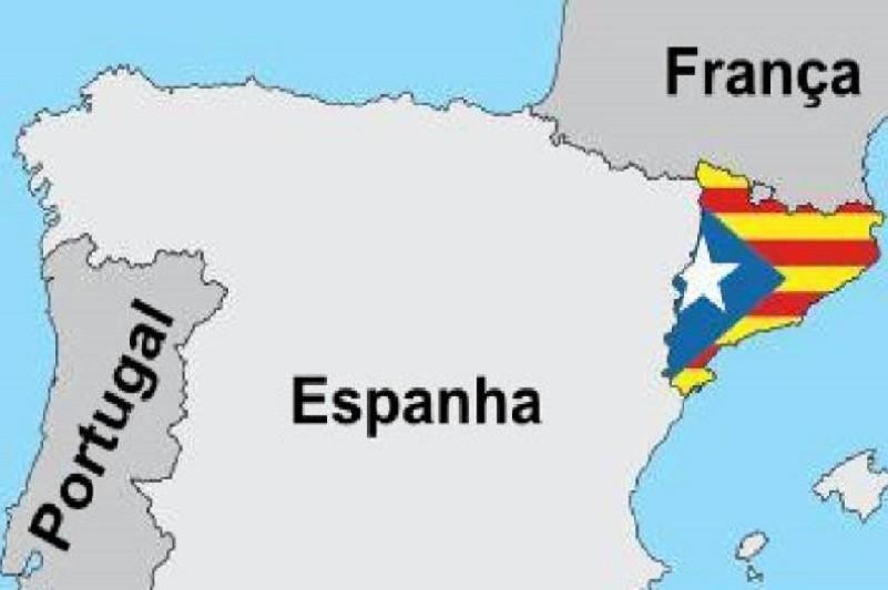 Independentistas catalães cortam acessos a França
