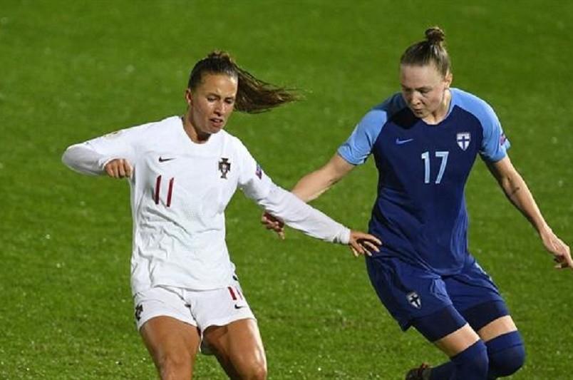 Portugal empata com Finlândia na qualificação para Euro2021 feminino
