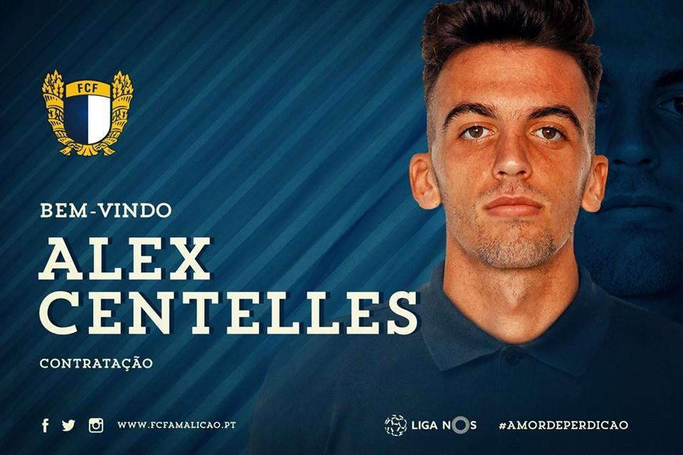 Alex Centelles no Famalicão por empréstimo do Valência
