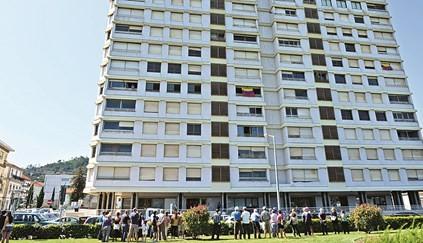 Cancelado cordão humano pela saída dos últimos moradores do prédio Coutinho