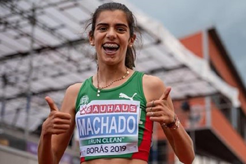 Mariana Machado terceira e melhor europeia no crosse de Alcobendas