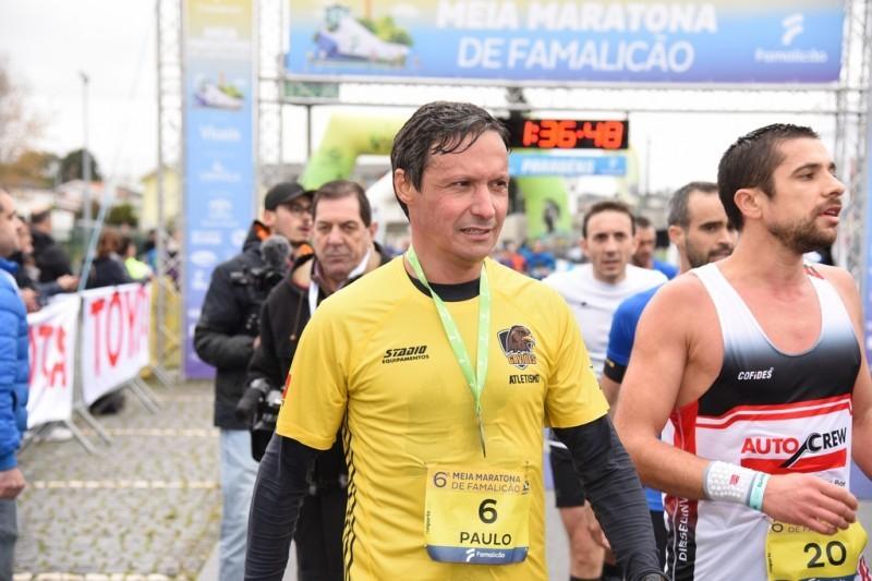 José Moreira e Marisa Barros vencem Meia Maratona de Famalicão