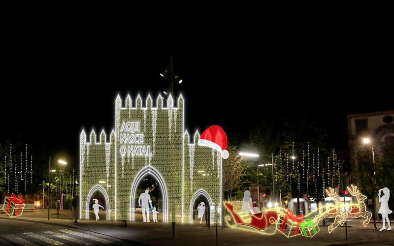 Programa de Natal de Guimarães com atividades nas ruas a partir de 07 de dezembro