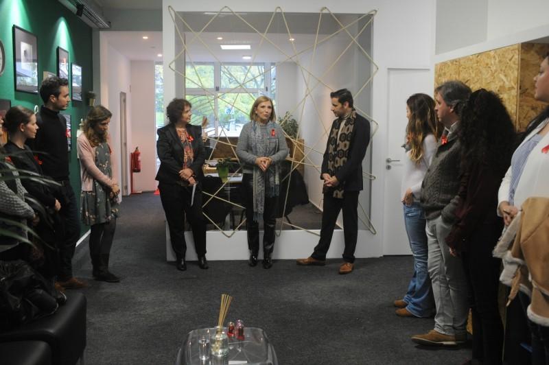 Abraço abre centro de rastreio em Braga Famalicão ouviu os estudantes do concelho