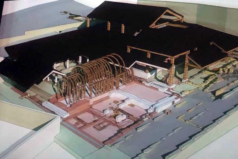 Projecto da Ínsula das Carvalheiras reconstrói casa e balneário romanos