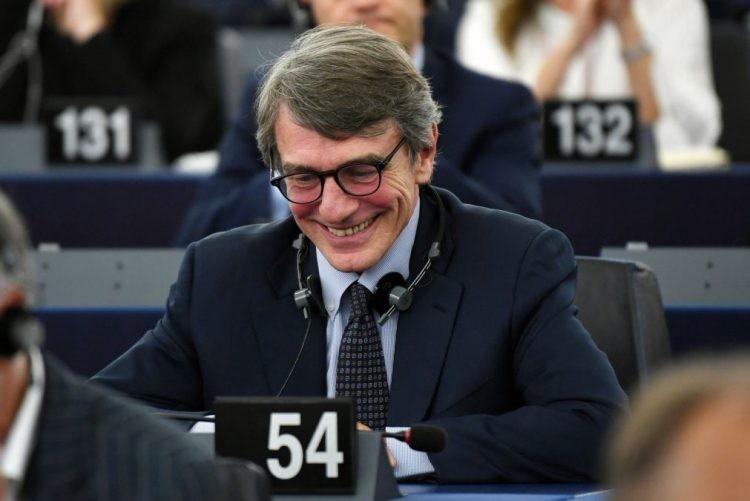 Socialista italiano David-Maria Sassoli eleito presidente do PE